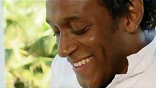 asian maid(bamboo) blows bbc (Omar)